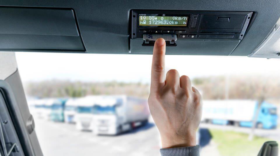 cerrar jornada tacografo digital