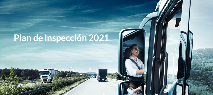plan inspeccion 2021 transportes